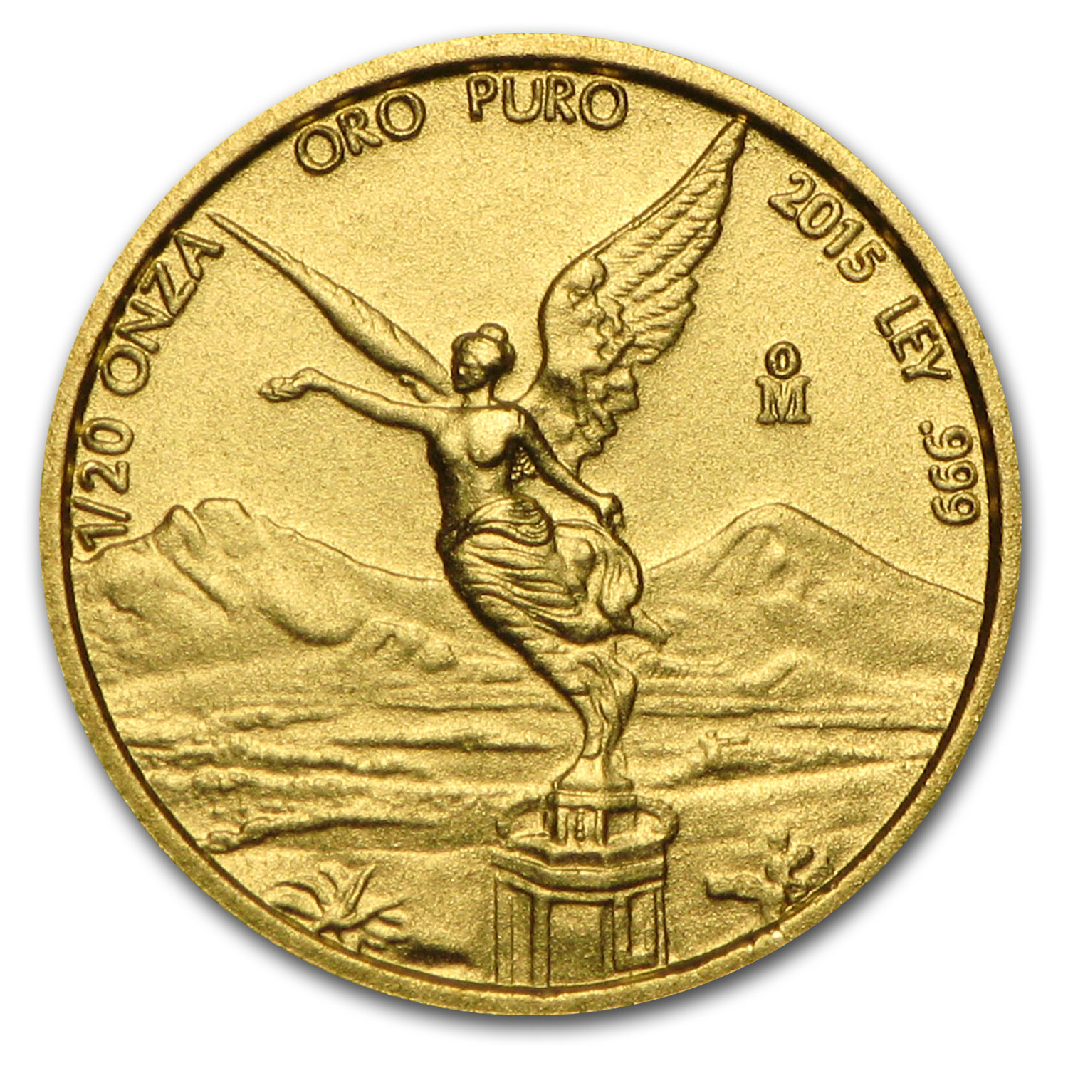 2015 Mexico 1/20 oz Gold Libertad BU